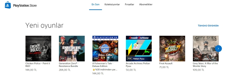 playstation store son