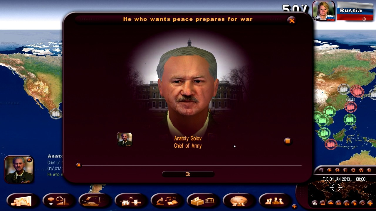 Masters of The World - Geopolitical Simulator