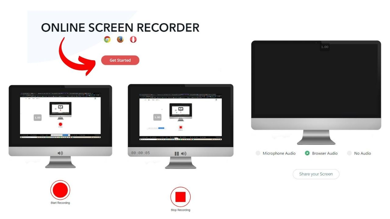 ekran kaydedici screen recorder screenapp