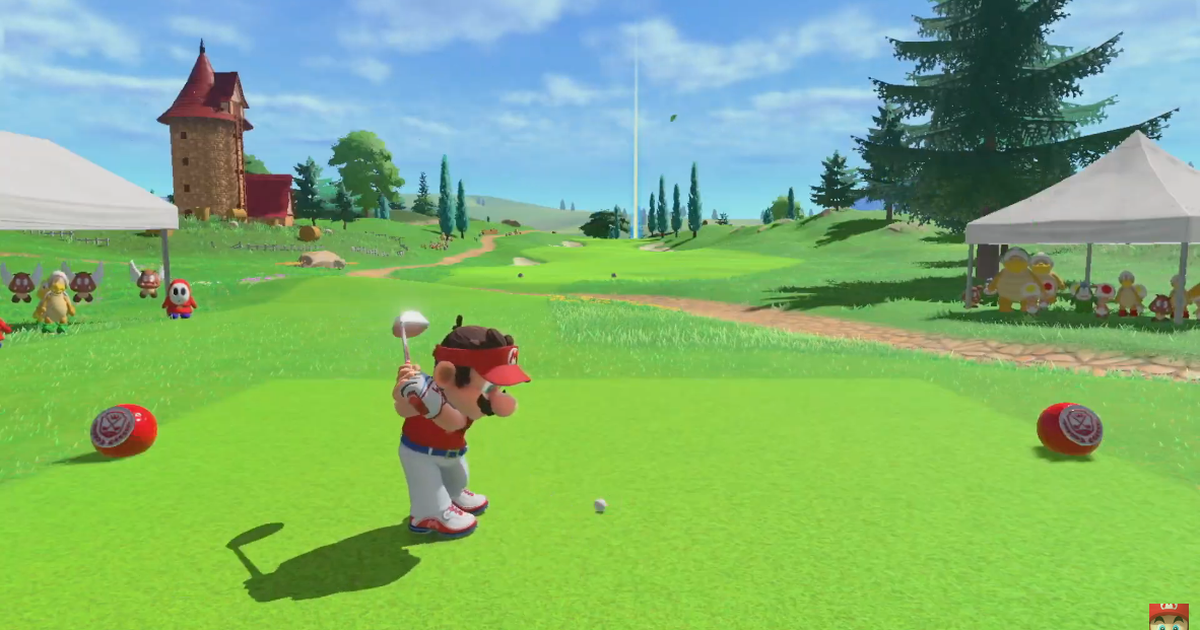 'Mario Golf' and a 'Zelda' blast from the past highlight this huge Nintendo Direct