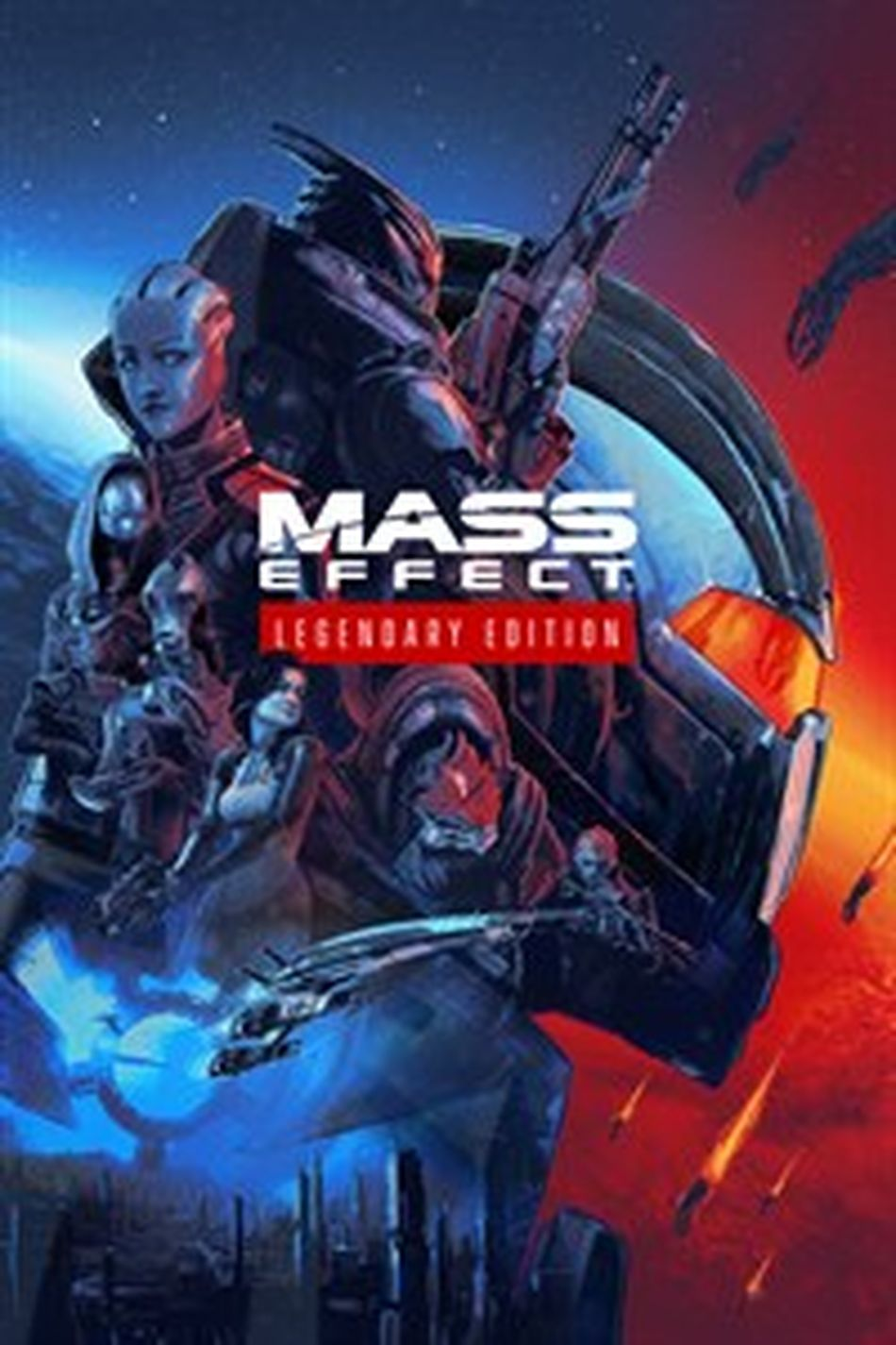 'Mass Effect: Legendary Edition' comes out in May — here's where to preorder a copy