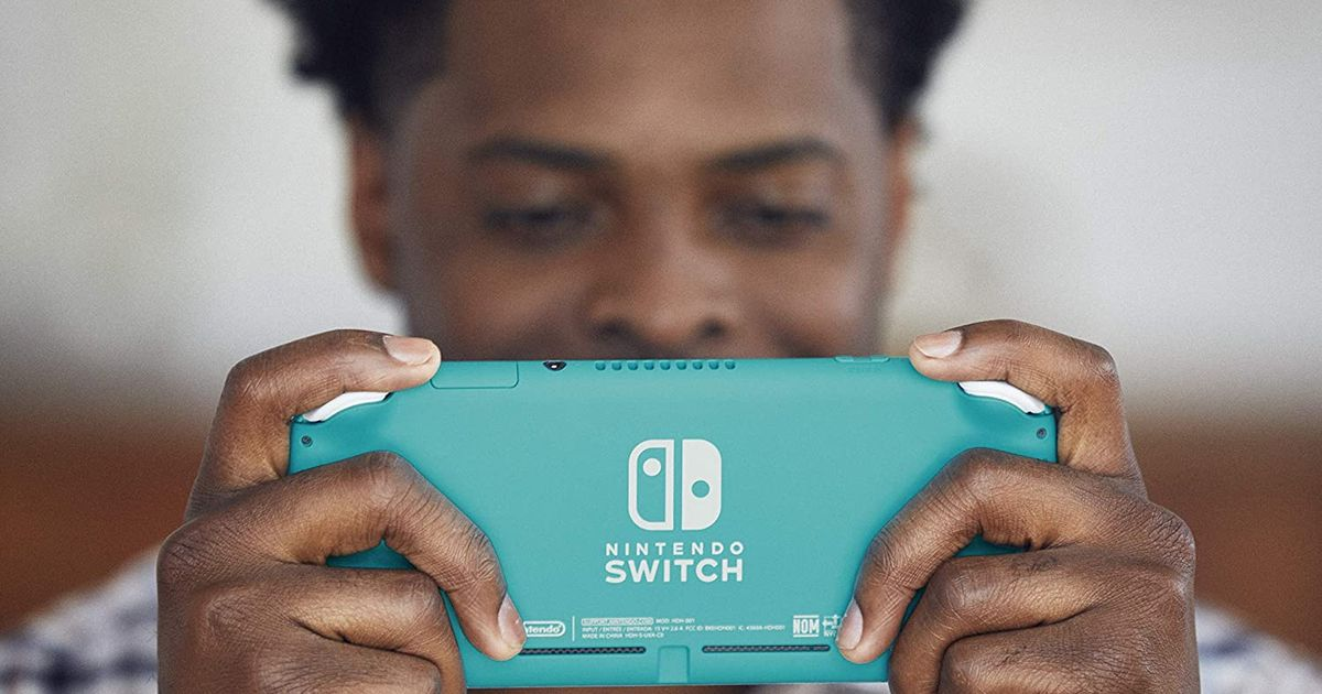 Nintendo Switch Lites come with a $20 Amazon credit