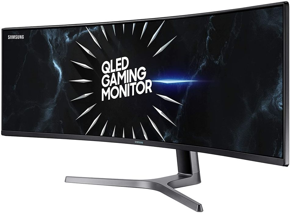 One of Samsung's huge curved gaming monitors is almost $500 off