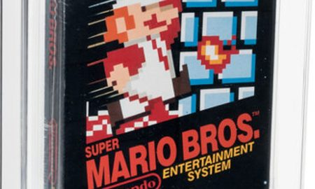 A Super Mario game sold for $660,000, and no, it wasn't an NFT