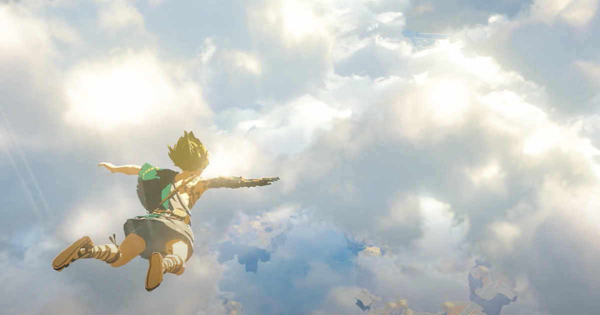 Nintendo unveils high-flying first look at 'Zelda: Breath of the Wild' sequel